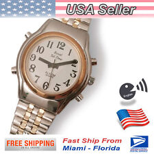 Talking Watch Unisex -Expansion Band - English- for Blind