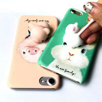 Etui Housse Coque Squishy 3D Chat Silicone Case Pour iphone 5s 6 6Splus 7 7plus