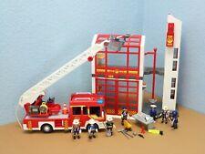 5361 Feuerwehr Station 9463 Leiterwagen Figuren Alarmsignal Playmobil 1622