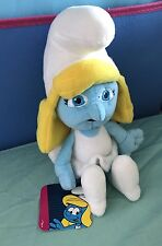 Licensed Smurfs - Smurfette - 26cm Plush Soft Toy Doll - BNWT