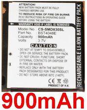 Batteria 900mAh Per U600, U608, E840, P/N: BST4048BE, AB423643CE
