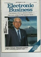 Electronic Business.  A Cahners Publication. September 15, 1987.