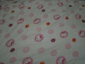 Hello Kitty Fitted Crib Sheet