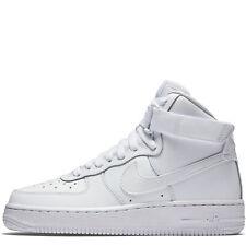 Nike Air Force 1 One High GS White All Triple 653998-100 Women Original OG Low