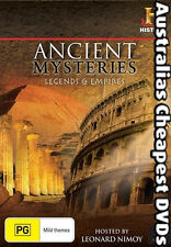 Ancient Mysteries Legends & Empires DVD NEW, FREE POSTAGE WITHIN AUSTRALIA REG 4