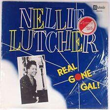 NELLIE LUTCHER: Real Gone Blues SEALED 80s STATESIDE Import VINYL LP
