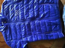 mens Armani puffer jacket, Blue, Size Small