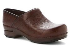 New! Women's Dansko Tooled Brown Leather Pro XP Clog Shoes- Size 42/ 11.5-12