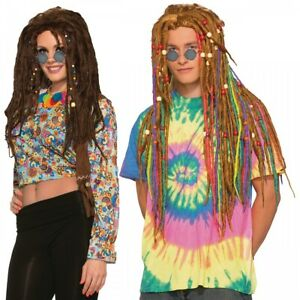 Hippie Dreads Costume Accessory Adult Halloween