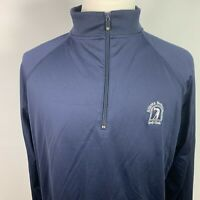 FootJoy Atlanta National Golf Club 1/4 Zip Long Sleeve Golf Pullover Size L