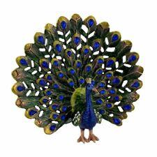 More details for treasured trinkets peacock bird trinket box ornament