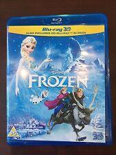 Like New Frozen 3D (Blu-ray 2D  & 3D) Disney Movie