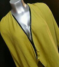 Exclusively Misook 3X Women Jacket Cardigan L/S V-neck Travel Open Front Career