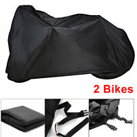 For 2 Bike Cycle Bicycle Rain Snow All Weather Dust Cover Waterproof Storage Bag