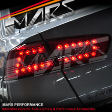 Smoked Red LED Tail Lights for MITSUBISHI LANCER CJ CF SEDAN 07-18 & EVOLUTION X