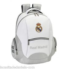 Real Madrid CF Mochila grande funda ordenador, niño / Boys Laptop Backpack