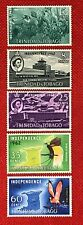1962 Trinidad & Tobago #105-109 mint - Fish / Aviation / BIRDS!