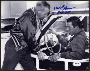 David Pearson SIGNED 8x10 + HOF 2011 NASCAR LEGEND PSA/DNA AUTOGRAPHED PHOTO