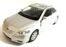 "Welly Toyota Camry 1/40 scale 4.75"" diecast model car new SILVER with PULL BACK"