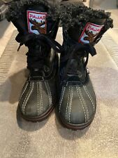 Pre-owned Pajar Mens Tuscan Boots In Black Size 9-9.5 US/42-EU