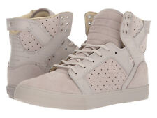 NEW SUPRA SKYTOP SILVER CLOUD SURF SKATEBOARD HIP HOP SPORTS SHOES 9.5
