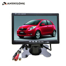 "7"" HD 800*480 Car Bus 1Ch Video Monitor with DVR Function Support SD Card 12-24v"