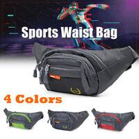 Sport Bum Bag Fanny Waist Pack Travel Hiking Belt Zip Pouch Wallet For Outdoor
