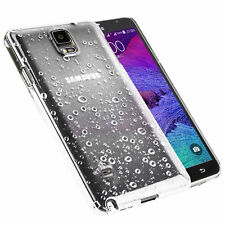 Accessories for Samsung Galaxy Rain Drop Back Hard Case Cover Protector Skin Galaxy S6 Hot Pink
