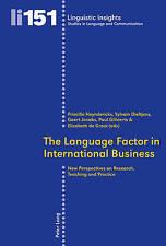 Language Factor In International Business  9783034310901