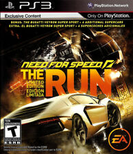 NEED FOR SPEED / NFS / THE RUN - Limted Edition - SONY PS3 Action / Racing Game