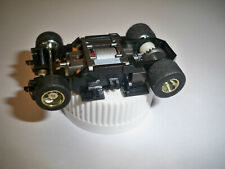 TYCO  440x2 wide chassis complete lot of 5 hot !!! oversized grey wheels