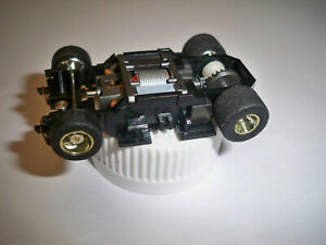 TYCO Wide 440-X2 Chrome wheels Slot Car Chassis Unused