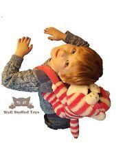 """Bagpuss Bag Plush Soft Toy Shoulder School Hand Bag Backpack 14"""""""