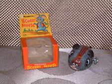 Vintage Yoneya (Yone), Tin, Scurry Mouse W/Original Box. Fully Working! Cool