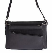 NEW $1800 DOLCE & GABBANA Bag Gray Lizard Leather Shoulder Cross Body Messenger