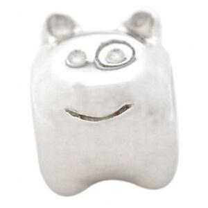 De Buman Sterling Silver Cute Animal Charm Bead