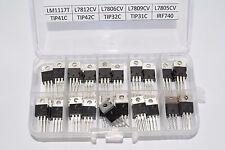 Transistor Kit L7805, L7806, L7812, LM1117T, TIP41C, TIP42C, TIP32C, TIP31C, USA