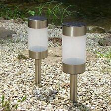 2er Set Solaire Extérieur Décoration Libellule Lampe éclairage sol Cour Chemin Jardin Couleur