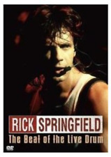 Rick Springfield: The Beat of the Live Drum  DVD NEW