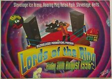 Razorlaser ~ Lords Of The Ring @ Stevenage Ice Arena, 30/08/96 Rave Flyer