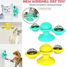 Windmill Cat Toy Teasing Pet Toy Tickle Cats Hair Brush Funny Cat Toy I7G9