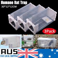 3pcs Animal Trap Cage Humane Live Possum Rat Cat Bird Mice Control Bait Catch AU