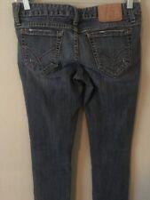AMETHYST High Waist Slim Skinny Women's Blue Jeans - Size 3 - 30Wx31L