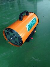 6 x  Propane Gas Space Heaters 10KW inc regulator new