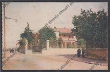 VARESE BUSTO ARSIZIO 85 VILLA VITTORIO LISSONI Cartolina viaggiata 1927
