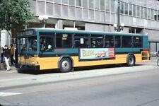 King County Metro Gillig Bus Kodachrome original Kodak Slide