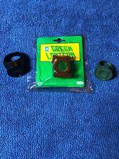 NEW GREEN LANTERN POWER RING US Size 7, Plastic Black Power Ring & Bonus Rings