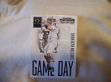 2016 Panini Contenders Football Christian Hackenberg - Game Day Ticket