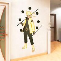 Uzumaki Naruto Anime Manga 3D Wandtattoo Wandaufkleber Wandsticker Wanddekos Neu