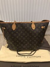 Authentic Louis Vuitton Neverfull MM With Box & Dust Bag